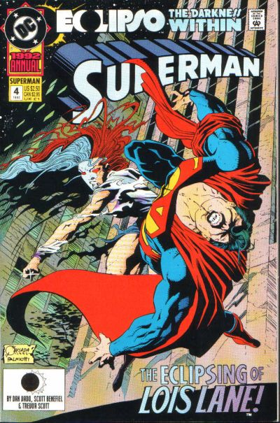 Cover for Superman Annual (1987 series) #4 [direct]