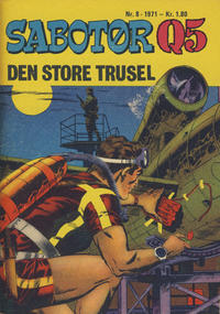 Cover Thumbnail for Sabotør Q5 (Se-Bladene, 1971 series) #8/1971