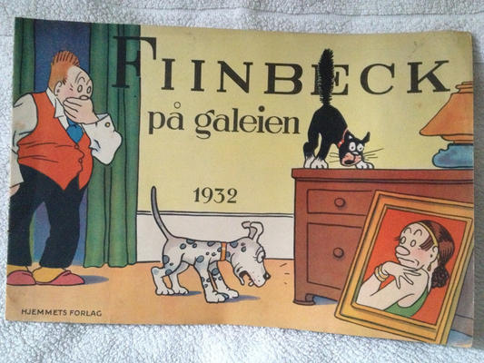 Cover for Fiinbeck og Fia (Hjemmet, 1930 series) #1932