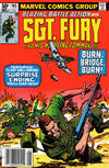 Cover Thumbnail for Sgt. Fury and His Howling Commandos (1974 series) #165 [newsstand]