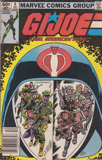 Cover Thumbnail for G.I. Joe, A Real American Hero (Marvel, 1982 series) #6 [Newsstand Edition]