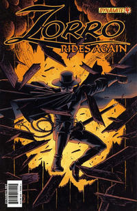 Cover Thumbnail for Zorro Rides Again (Dynamite Entertainment, 2011 series) #4