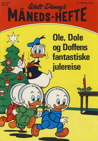 Cover Thumbnail for Walt Disney&#39;s Mnedshefte (Hjemmet, 1967 series) #12/1970