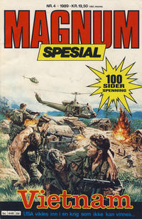 Cover Thumbnail for Magnum Spesial (Bladkompaniet, 1988 series) #4/1989
