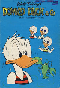 Cover Thumbnail for Donald Duck & Co (Hjemmet, 1948 series) #32/1971