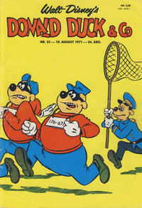 Cover Thumbnail for Donald Duck & Co (Hjemmet, 1948 series) #33/1971