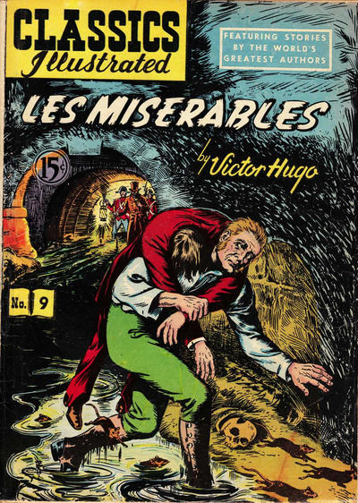 Cover for Classics Illustrated (Gilberton, 1948 series) #9