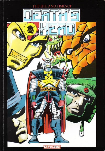 Cover for The Life and Times of Death's Head (Marvel UK, 1990 series)