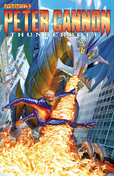 Cover for Peter Cannon: Thunderbolt (Dynamite Entertainment, 2012 series) #5 [Cover A - Alex Ross]