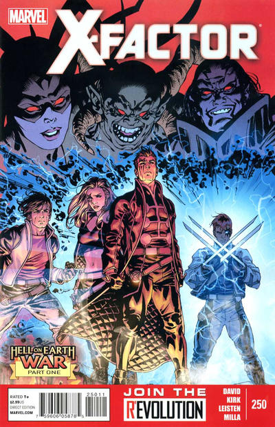 Cover for X-Factor (Marvel, 2006 series) #250