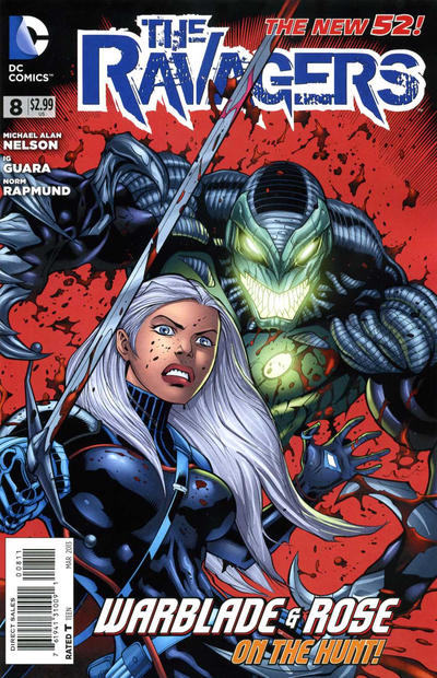 Cover for The Ravagers (DC, 2012 series) #8