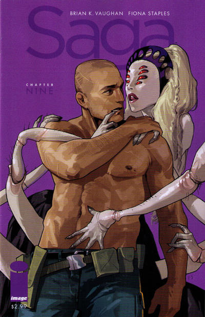 Cover for Saga (Image, 2012 series) #9