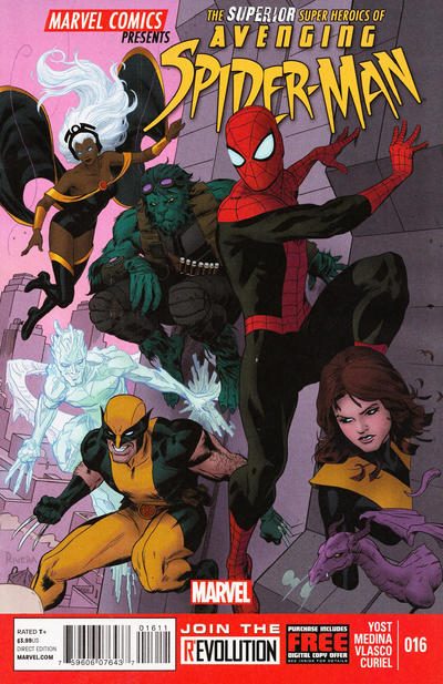 Cover for Avenging Spider-Man (2012 series) #16