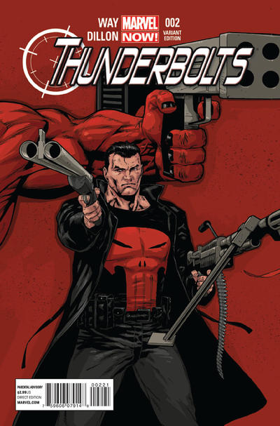 Cover for Thunderbolts (Marvel, 2013 series) #2