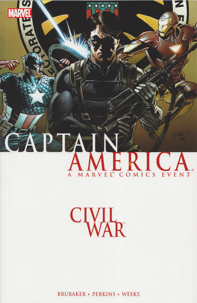 Cover for Civil War: Captain America (2007 series) #[nn]