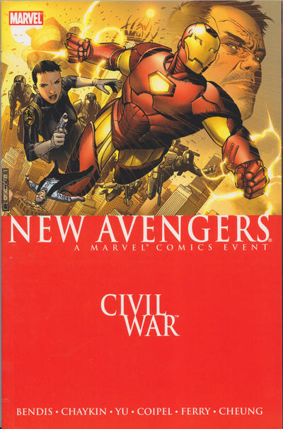 Cover for New Avengers (2006 series) #5 - Civil War