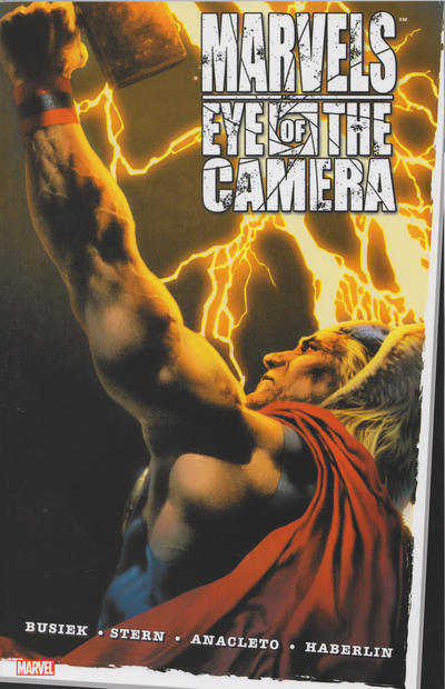 Cover for Marvels: Eye of the Camera (2010 series) #[nn]