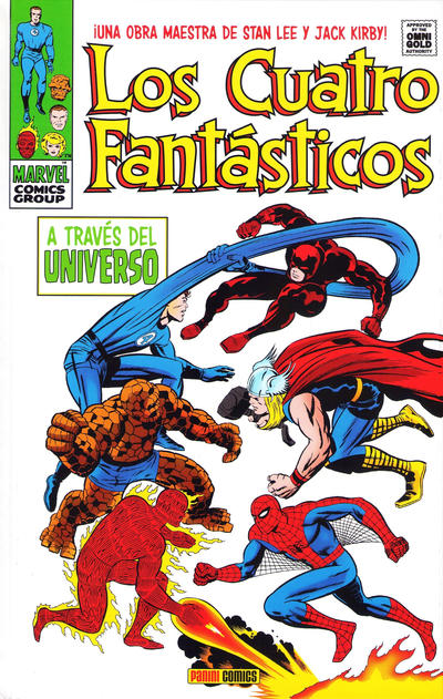 Cover for Marvel Gold. Los 4 Fantásticos (2011 series) #2 - A Través del Universo