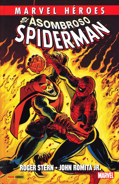 Cover for Marvel Hroes (2012 series) #44 - El Asombroso Spiderman de Roger Stern y John Romita Jr.