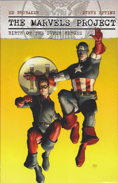 Cover for The Marvels Projects: Birth of the Super Heroes (2011 series) #[nn]