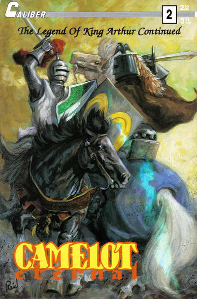 Cover for Camelot Eternal (Caliber Press, 1990 series) #2