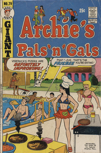Cover for Archie's Pals 'n' Gals (1952 series) #79