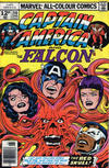Cover Thumbnail for Captain America (1968 series) #210 [British Price Variant]