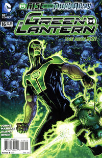 Cover Thumbnail for Green Lantern (DC, 2011 series) #16