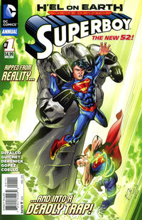 Cover Thumbnail for Superboy Annual (DC, 2013 series) #1