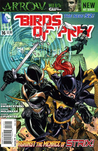 Cover Thumbnail for Birds of Prey (DC, 2011 series) #16