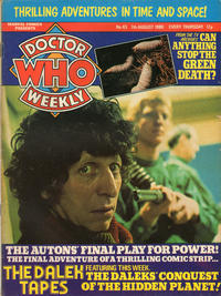 Cover Thumbnail for Doctor Who Weekly (Marvel UK, 1979 series) #43