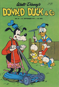 Cover Thumbnail for Donald Duck & Co (Hjemmet, 1948 series) #39/1971