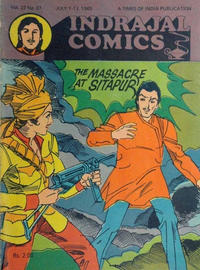 Cover Thumbnail for Indrajal Comics (Bennet, Coleman &amp; Co., 1964 series) #v22#27 [570]