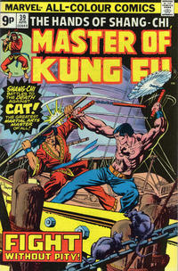Cover Thumbnail for Master of Kung Fu (Marvel, 1974 series) #39 [British price variant]
