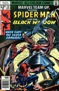 Cover Thumbnail for Marvel Team-Up (Marvel, 1972 series) #57 [British price variant]