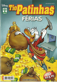 Cover Thumbnail for Tio Patinhas Férias (Editora Abril, 2008 series) #9