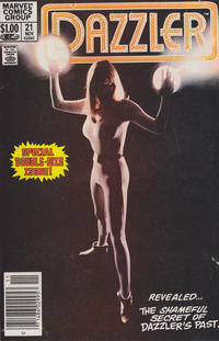 Cover Thumbnail for Dazzler (Marvel, 1981 series) #21 [Newsstand]