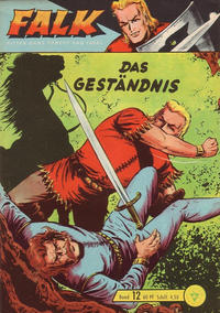 Cover Thumbnail for Falk, Ritter ohne Furcht und Tadel (Lehning, 1963 series) #12