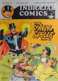 Cover Thumbnail for Indrajal Comics (Bennet, Coleman &amp; Co., 1964 series) #v23#16 [616]