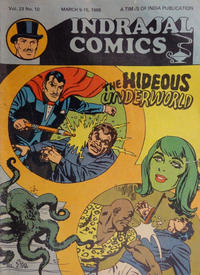 Cover Thumbnail for Indrajal Comics (Bennet, Coleman & Co., 1964 series) #v23#10 [610]