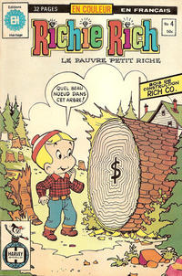 Cover Thumbnail for Richie Rich (Editions Héritage, 1978 series) #4