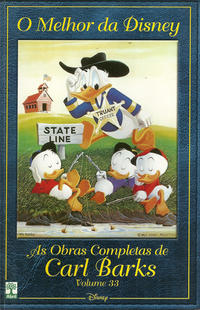 Cover Thumbnail for O Melhor da Disney: As Obras Completas de Carl Barks (Editora Abril, 2004 series) #33