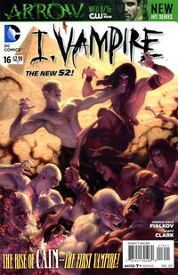 Cover Thumbnail for I, Vampire (DC, 2011 series) #16