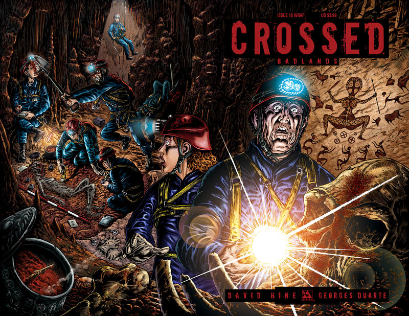 Cover for Crossed Badlands (2012 series) #16