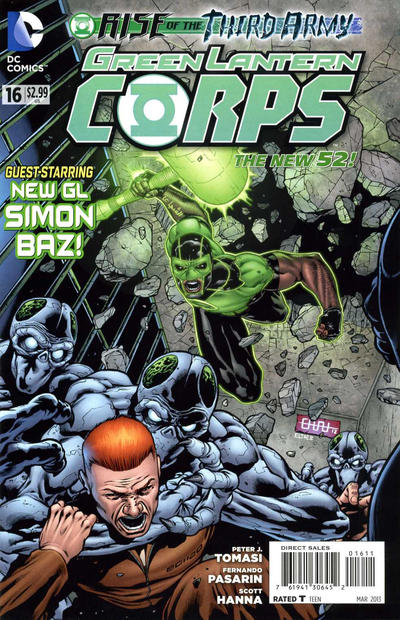 Cover for Green Lantern Corps (2011 series) #16