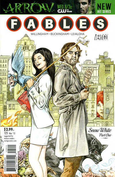 Cover for Fables (2002 series) #125