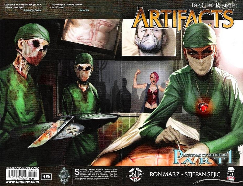 Cover for Artifacts (Image, 2010 series) #19