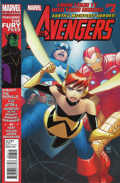 Cover for Marvel Universe Avengers Earth's Mightiest Heroes (Marvel, 2012 series) #7