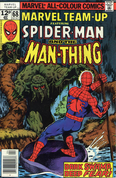 Cover for Marvel Team-Up (Marvel, 1972 series) #68