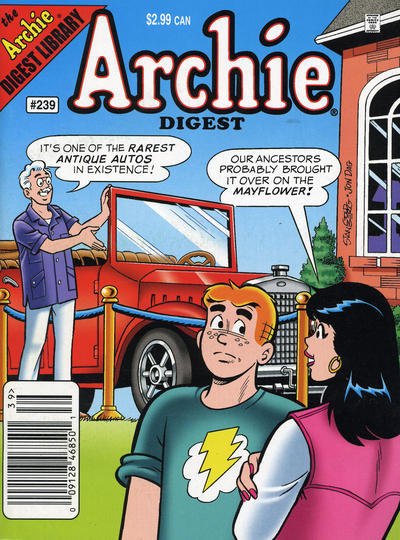 Cover for Archie Comics Digest (Archie, 1973 series) #239